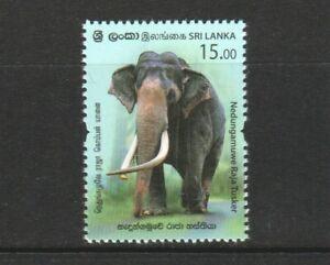 SRI LANKA 2019 NEDUNGAMUWE RAJA TUSKER ELEPHANT COMP. SET OF 1 STAMP IN MINT MNH