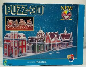 1996 Puzz 3D Notre Dame Cathedral by Wrebbit Contents New Sealed Piece FREE SHIP