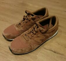 New Balance 420 Mens 70s Running U420PTB Trainers Brown Suede Shoes Sneakers UK7