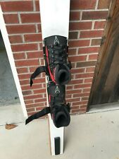 Maharajah race water ski - excellent condition with new bindings and boots