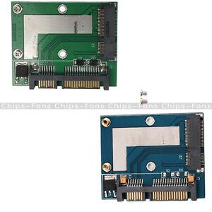 Mini PCI-e MSATA To 2.5inch SATA Adapter Converter Card Module Blue /Green Board