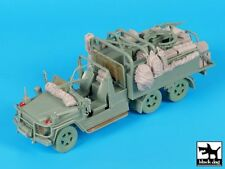 Black Dog 1/35 Australian Army Mercedes G-Wagon 6x6 SVR Big Set w/Stowage T35205
