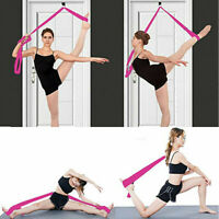 Sport Yoga Door Stretch Bands Training Rope Leg Adjustable Gym Dance Gymnastics