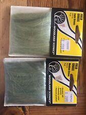 2 Pks Woodland Scenics Field Grass Medium and Light Green FG 173 & 174 NEW Train