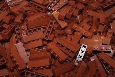 200 x lego ® Brick piedras/1x4 (3010) en nuevo marrón/reddish brown nuevo