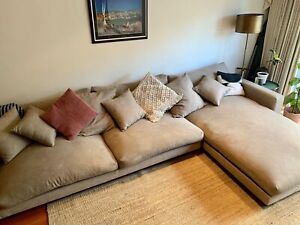 Comfiest Designer 5  Seater Chaise Modular Lounge / Sofa / Couch