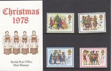 GB 1978 CHRISTMAS  PRESENTATION PACK No.104 SG 1071 1074 MINT STAMP SET. #104