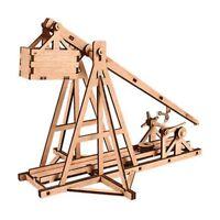 Desktop Wooden Model Kit Trebuchet by YOUNGMODELER