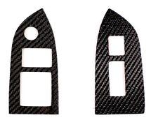 SUBARU BRZ SCION FRS Carbon Fiber Window Switch Overlay Cover Left hand Drive
