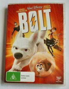 Bolt Disney Kids PAL DVD R4 VGC