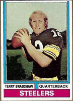Terry Bradshaw 1974 Topps #470 EX/MT Pittsburgh Steelers HOF