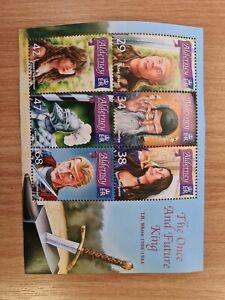 Alderney Stamps 2006 Future King set of 6 UM in Minature  Sheet UM L21