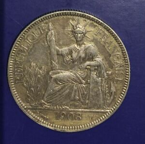 Piastre Argent  Indochine  1903  SUP/XF   KM.5 a.1
