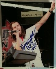 Andrew WK Signed COA d