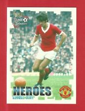 FUTERA - MANCHESTER UNITED 1999 - HEROES -  GEORGE BEST  - No. 61  (NR04)