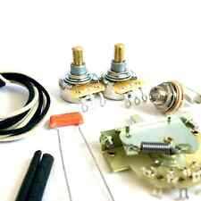 Telecaster Wiring Kit (3-Way CRL Switch, CTS Pots)