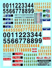 Colorado Decals 1/24 2014 Wrc Rally Plates For Mexico & Portugal