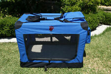 Oxford Cloth Soft-Sided Travel Crate Dog Carriers