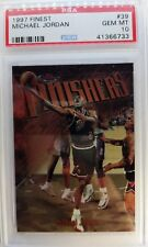 1997 97-98 Finest Michael Jordan Bronze FINISHERS #39, Graded PSA 10 Gem Mint !$