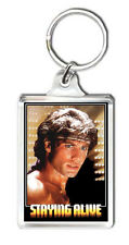 STAYING ALIVE 1983 KEYRING LLAVERO
