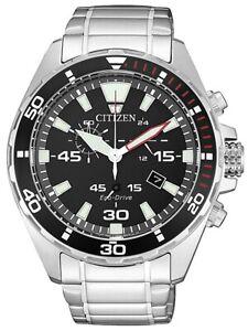 Citizen AT2430-80E Eco-Drive Chronograph 43mm 10ATM