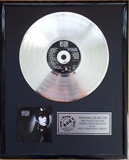 "Janet Jackson Rhythm Nation CD/Cover gerahmt +12""Deko goldene Vinyl Schallplatte"