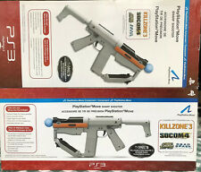 PlayStation PS3 Sony Move Sharp Shooter Light Guns Set of 2 Brand New In Box