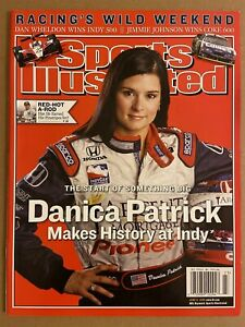 2005 Sports Illustrated INDIANAPOLIS 500 Danika PATRICK NewsStand INDY 500 N/Lab