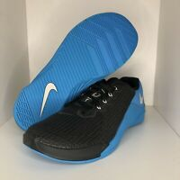Nike Metcon 5 Training Shoes Black Blue AQ1189-040 Mens Size 10