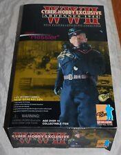 "Dragon 1/6 FIGURE GERMAN WWIICYBER-HOBBY EXCL. # 70166 ""HESSLER"" W/ BOX"