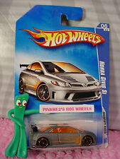 htf 2009 i Hot Wheels HONDA CIVIC SI #162/166∞ Gray/Orange  (ړײ) Modified Rides