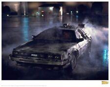 Retour vers le Futur lithographie DeLorean 1 35 x 28 cm BTTF limitée 659188