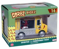 Deadpool Dorbz Ridez Chimichanga Delivery Truck Funko 16 Marvel Movie Figure Box
