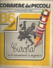 CORRIERE DEI PICCOLI n° 20 del 1979 (con Faust,Pimpa,Stefi, Marzolino Tarantola)
