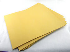 """5 NEW 25 SHEETS SKETCH PAPER PADS 16""""x20"""" ARTIST DRAWING BOOK CRAFT PAPER GOLD"""