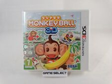 SUPER MONKEY BALL 3D NINTENDO 3DS 2DS DS PAL EU EUR ITALIANO COMPLETO