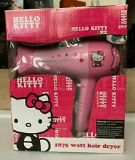 NEW Hello Kitty 1875 Watt Hair Dryer Pink BNIB KT3052(A)