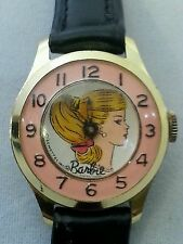 Vintage Barbie Watch 1964 Diamond Tooled