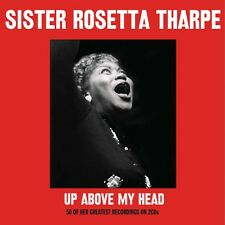 Sister Rosetta Tharpe UP ABOVE MY HEAD Best Of 50 Greatest Songs NEW SEALED 2 CD