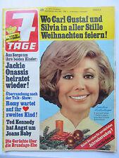 7 Tage Nr 49/1974, Rothenberger, Ivan Rebroff, James Last, Lilo Pulver, Schlüter