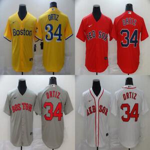 HOT NEW Boston Red Sox #34 David Ortiz Series Fan Edition Stitched Jersey