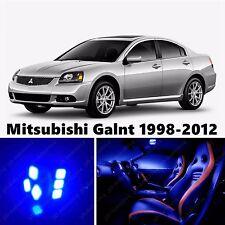 10pcs LED Blue Light Interior Package Kit for Mitsubishi Galant 1998-2012