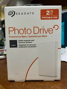 sealed Seagate Photo Drive 2TB,External, 2.5 inch Hard Drive New Free Shipping