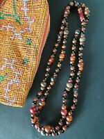 Old Chinese Horn & Glass Beaded Necklace …beautiful accent / collection piece