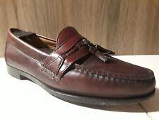 ☆ Foot joy mens dress shoes size 10 D slip on brown tassel loafers ☆