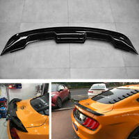 For 2015-2020 Ford Mustang Coupe GT500 Style Trunk Spoiler Wing Gloss Black ABS