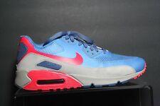 Nike Air Max 90 Fuse Running Sneaker '12 Retro Multi Blue Grey Men 11 Athletic