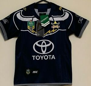 NORTH QUEENSLAND COWBOYS NRL KIDS JERSEY BRAND NEW WITH TAGS