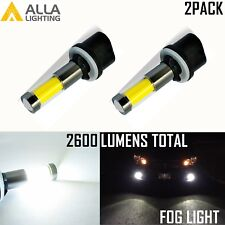 Alla Lighting LED 880 Driving  Fog Light Bulb Lamp 6000K Super White 360° Shine