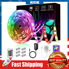 16.4ft LED Strip Lights Smart Dimmable 5050 RGB Bluetooth Home Decoration